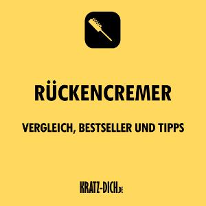 Rückencremer_Vergleich, Bestseller und Tipps