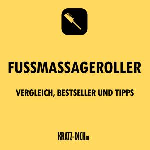 Fußmassageroller_Vergleich, Bestseller und Tipps